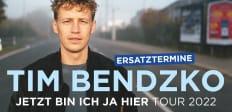 Tim Bendzko Tickets + Hotel ab